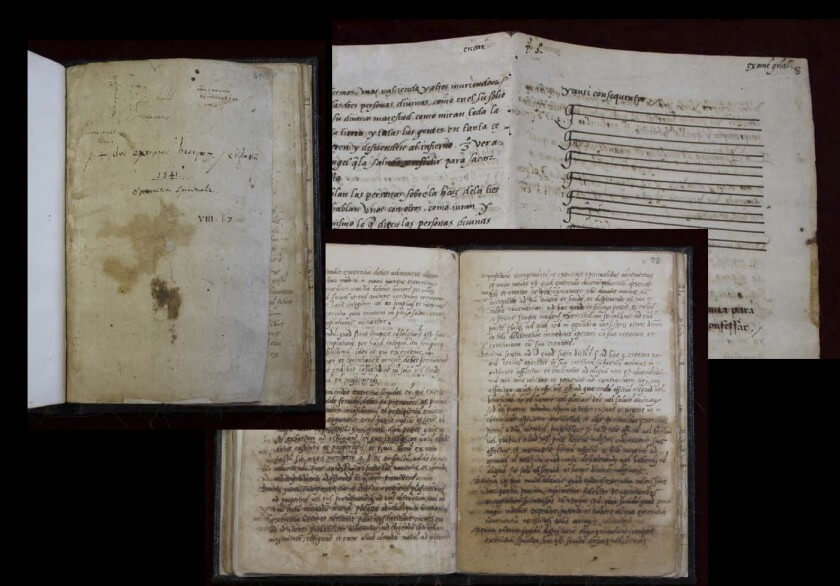 El manuscrito de san Ignacio de los Ejercicios Espirituales ha sido restaurado de la corrosión del ácido de las tintas