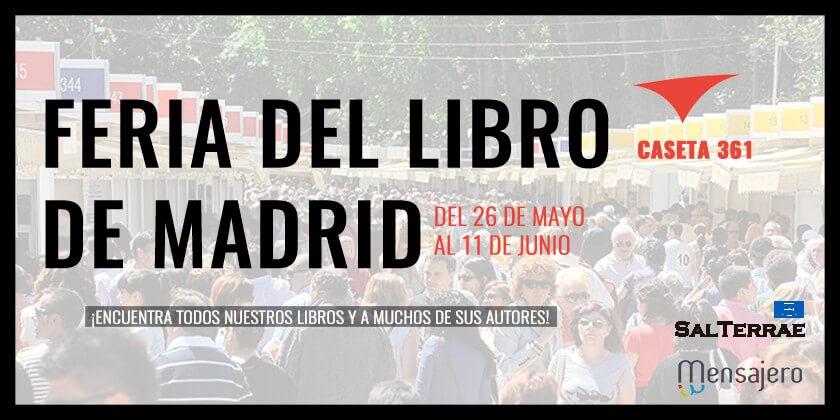 Nos vemos en la Feria del Libro de Madrid