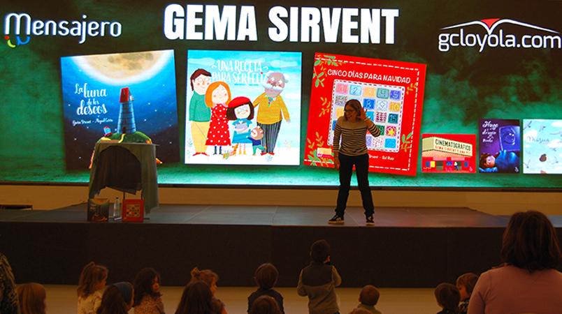 Gema Sirvent: «Mis cuentos hablan de la felicidad y de las cosas importantes de la vida»