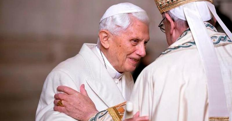 La memoria viva de Benedicto XVI